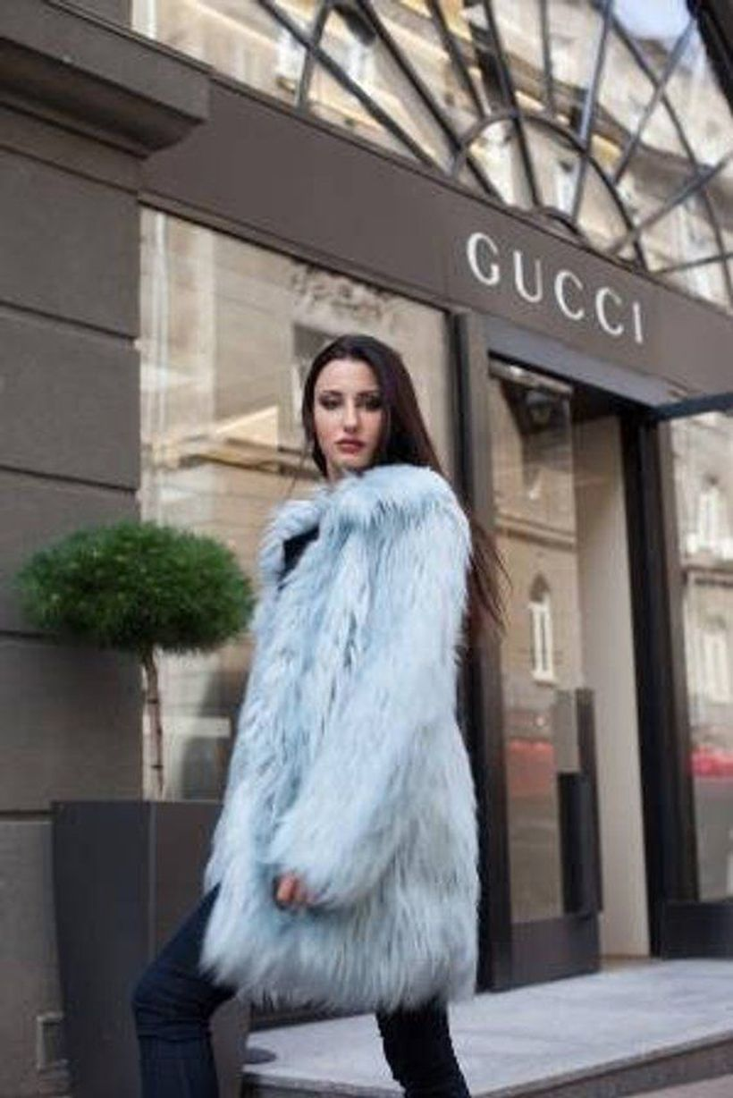 Light-blue-fake-fur-coats