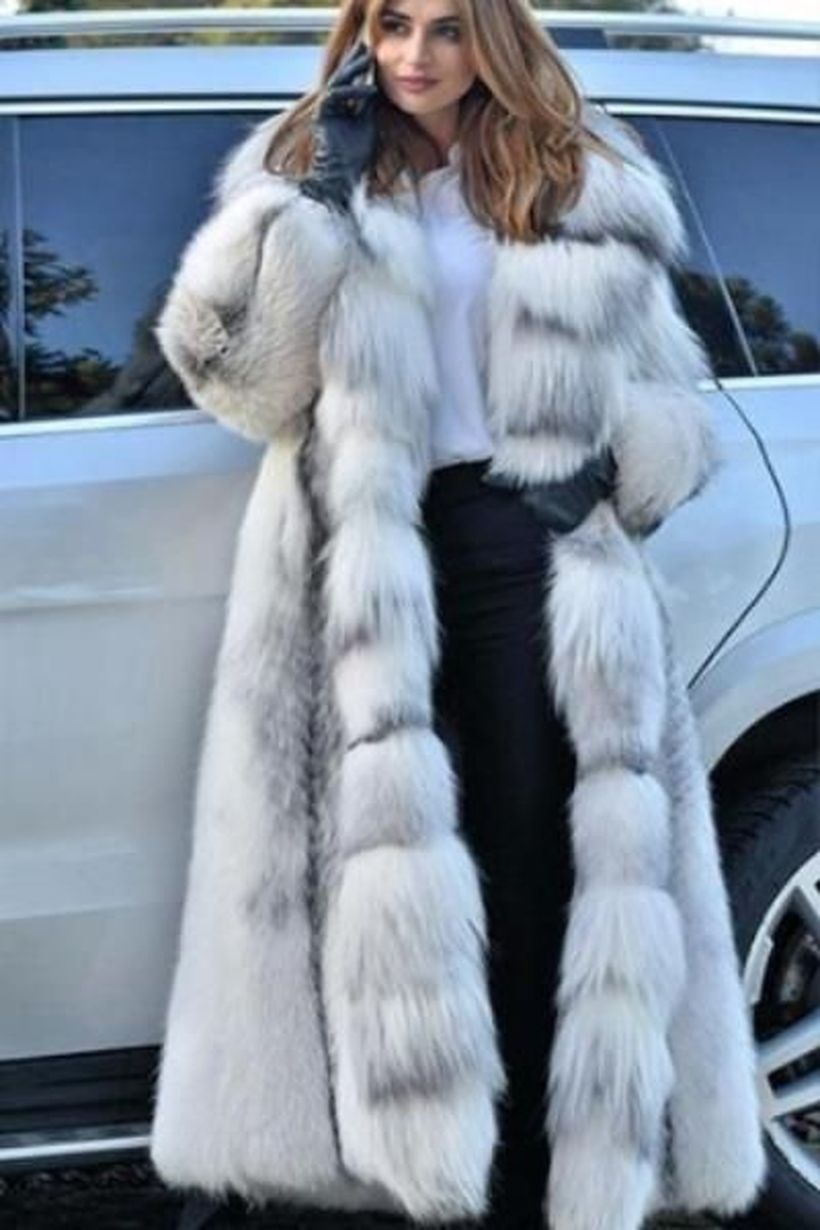 White-fake-fur-thick-long-coats-for-your-style