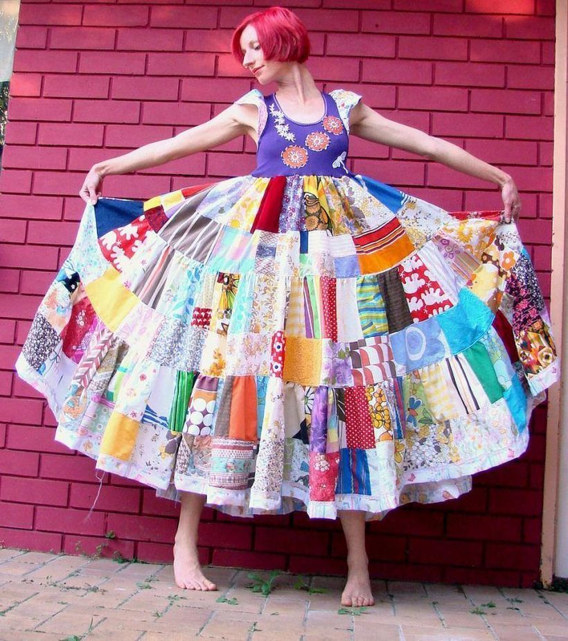 Beautiful colorful pixies patchwork ideas to look pretty in the party