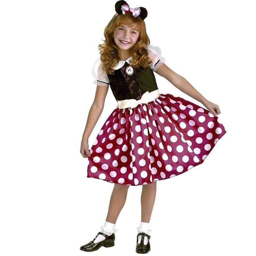 Cute minnie mouse outfits for little girl to go to event