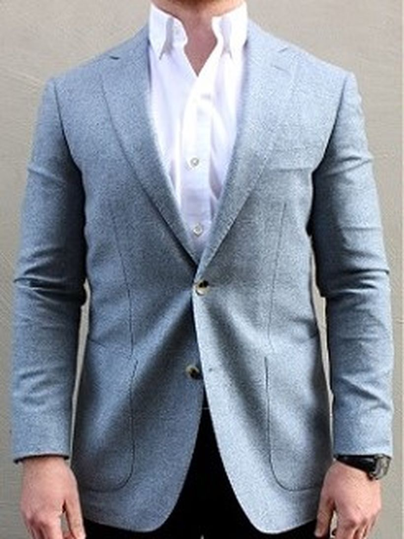 Simple-grey-sportcoat-for-men-with-long-sleeve-white-shirt-and-black-pant-for-your-style