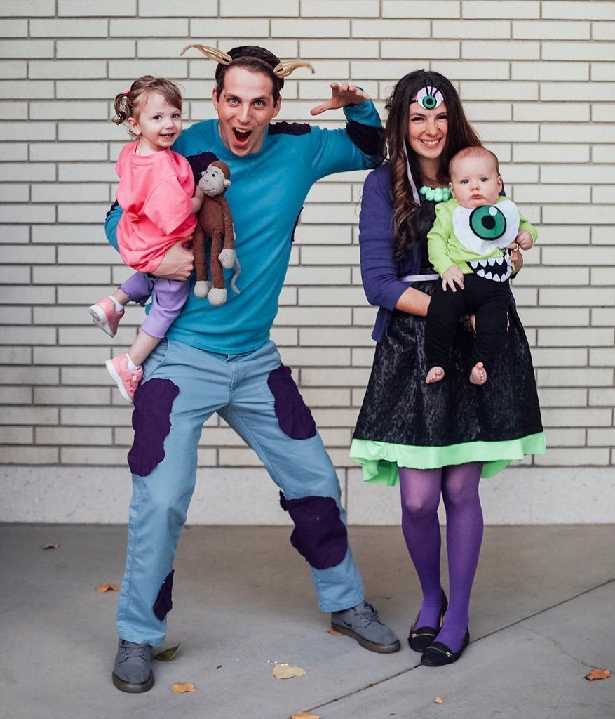 Beautiful halloween costumes for family