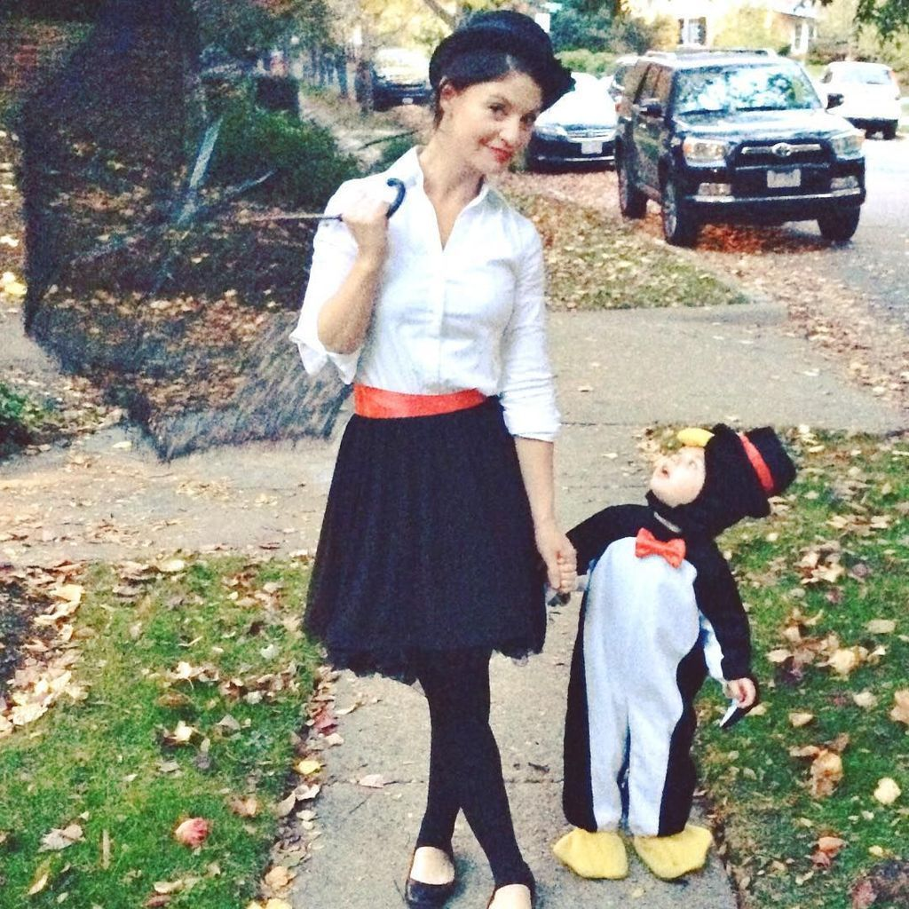 Cute costumes for children with penguin clothes