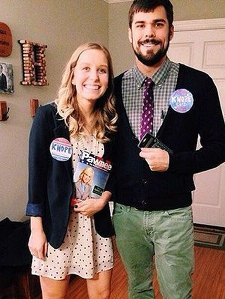 Simple halloween costume for couple