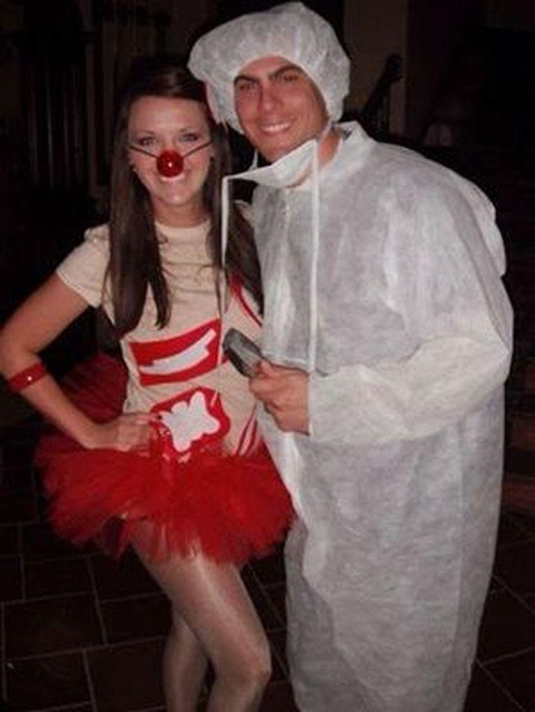 Unique halloween costume for couple