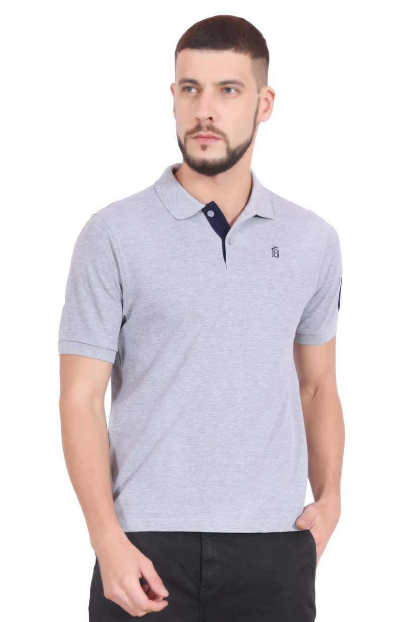 Cotton polo t-shirt for men to look amazing