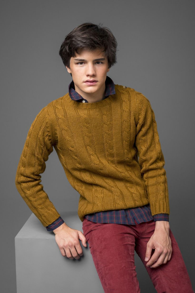 Cool beige sweater