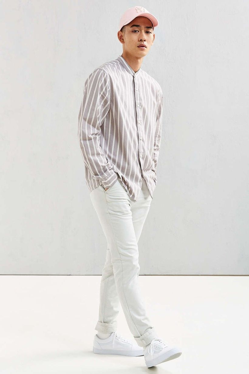 White denim pants ideas