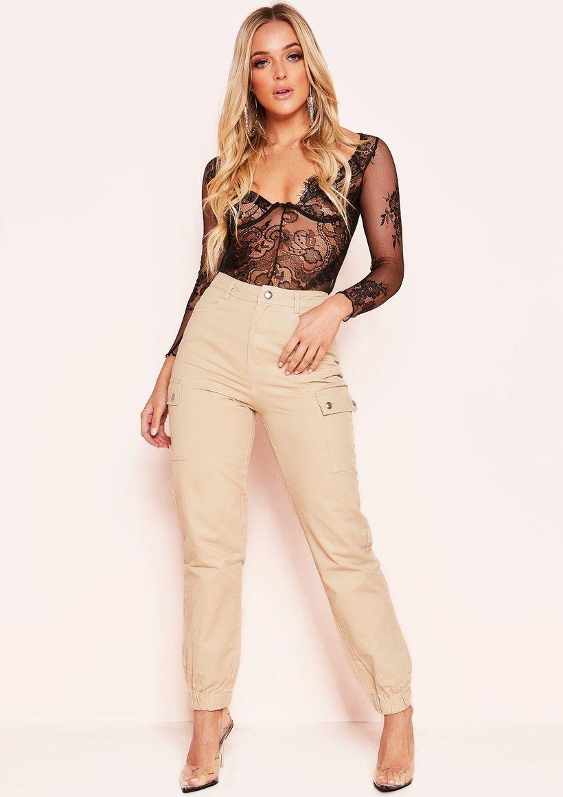 Beige-cargo-trousers-for-women