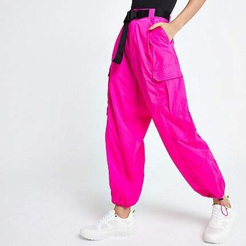 Cute-pink-cargo-trouser