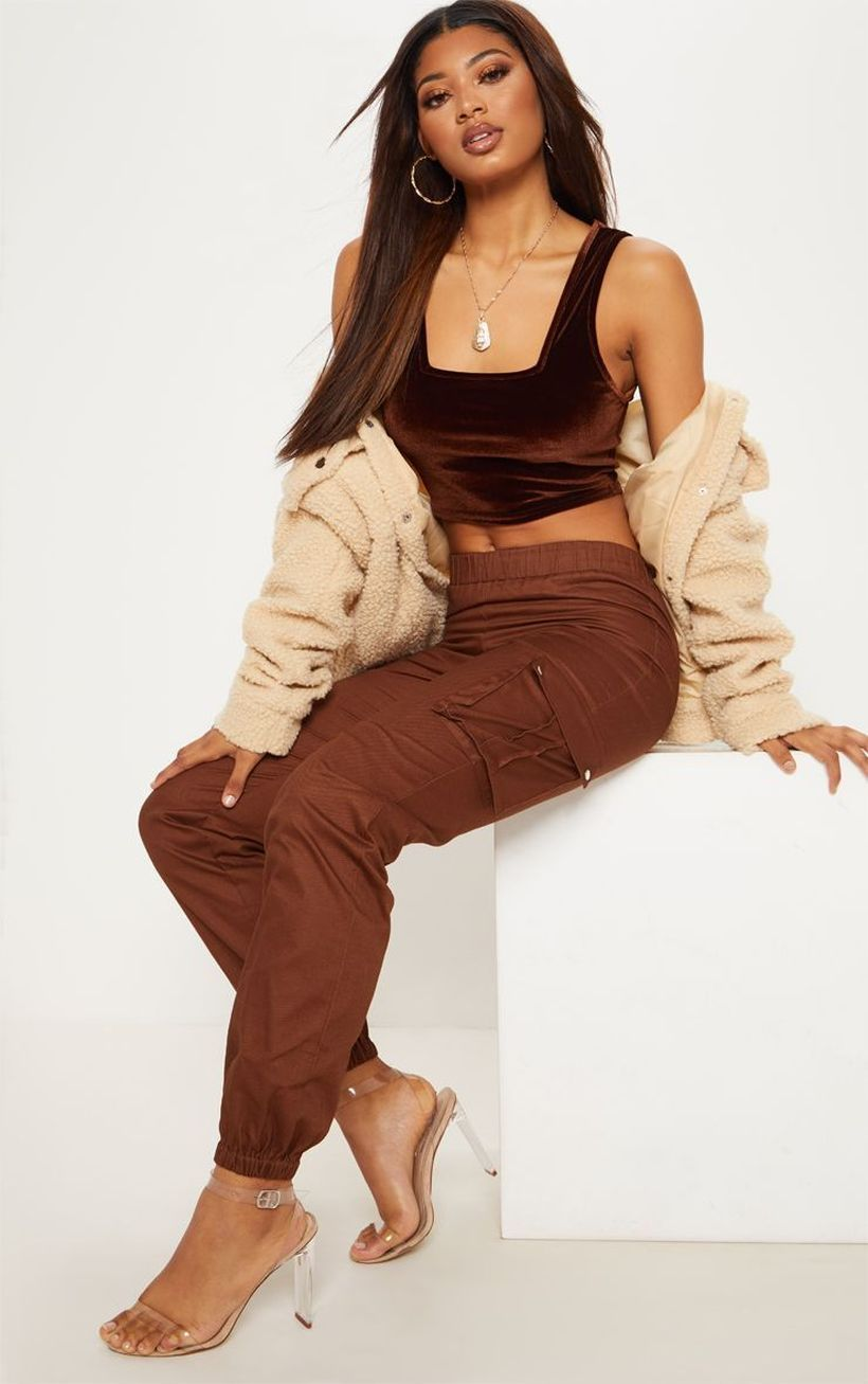 Cool-brown-cargo-trouser-for-women