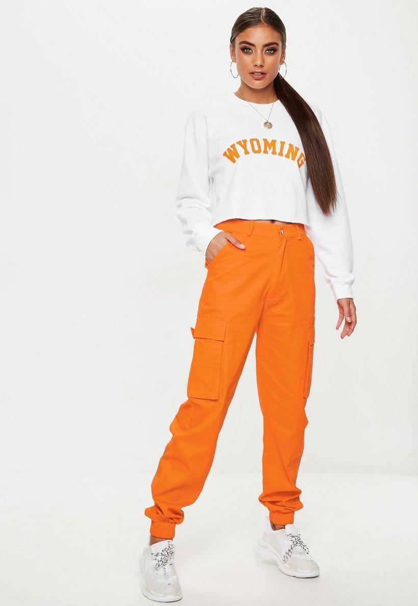 Cute-yellow-cargo-trousers-for-women