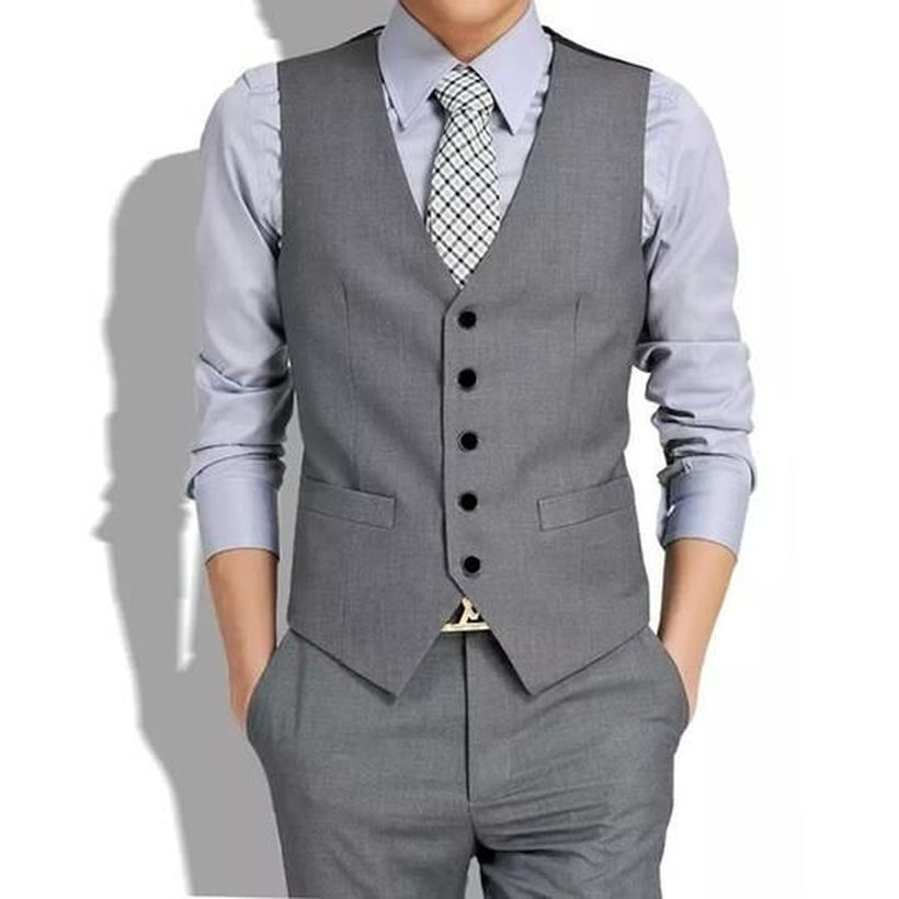 Grey-vest-and-pant-for-men