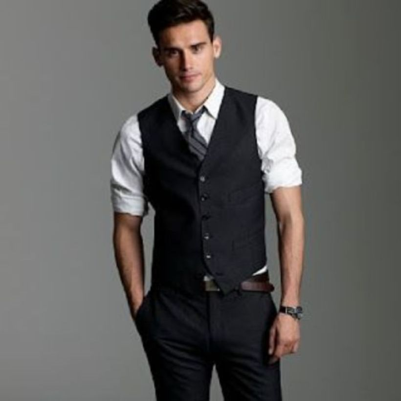 Simple-cool-black-vest