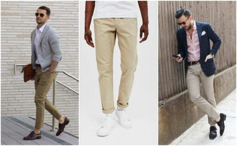 Casual business style for men