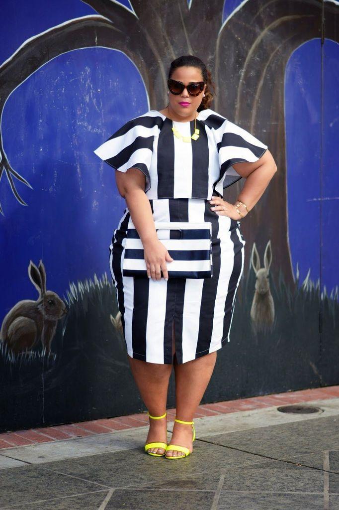 Beautiful striped dress for women