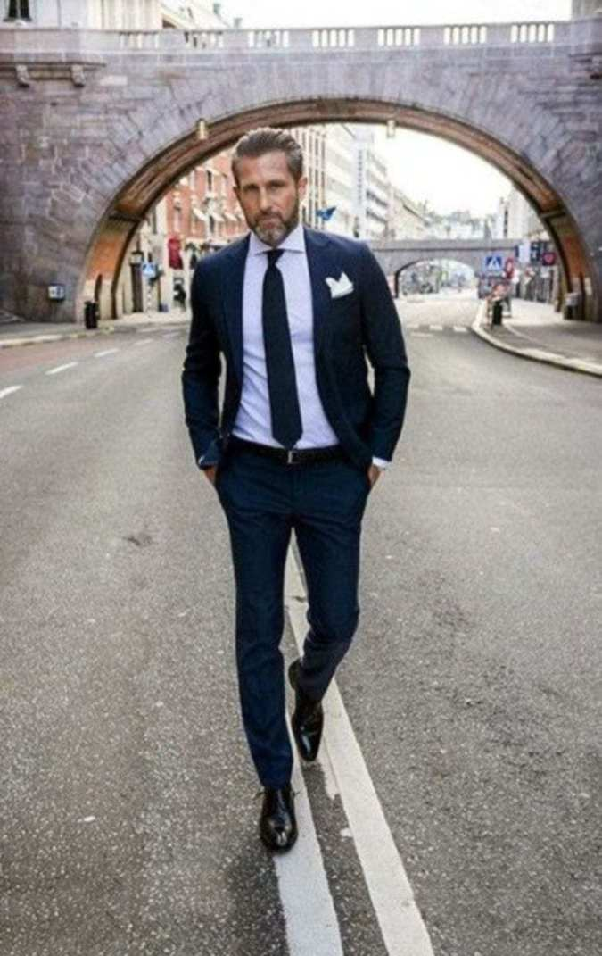 Formal men outfits to wear this fall 32