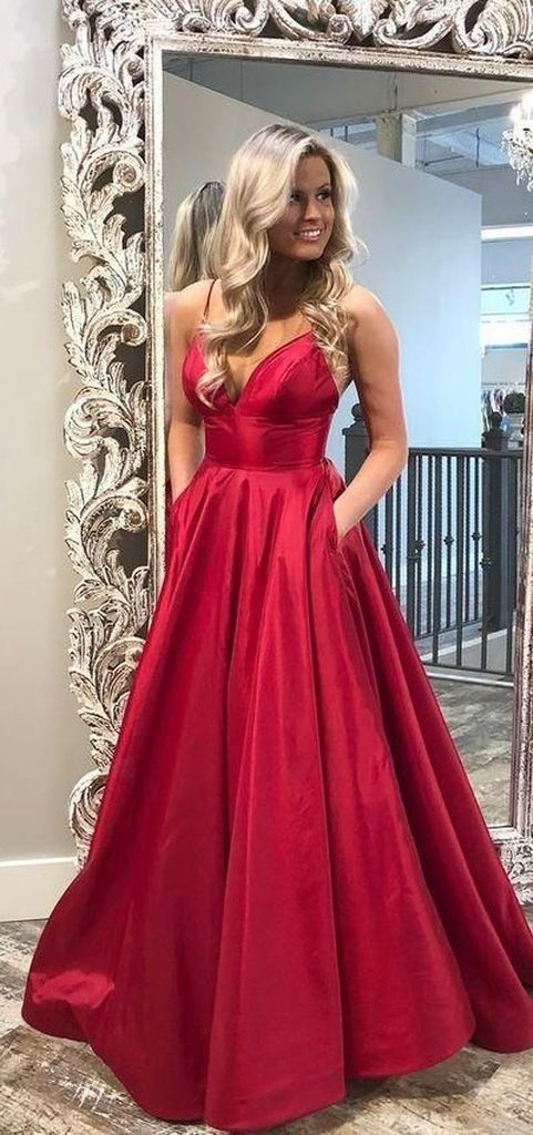 Perfect red porm dress to perfect your style
