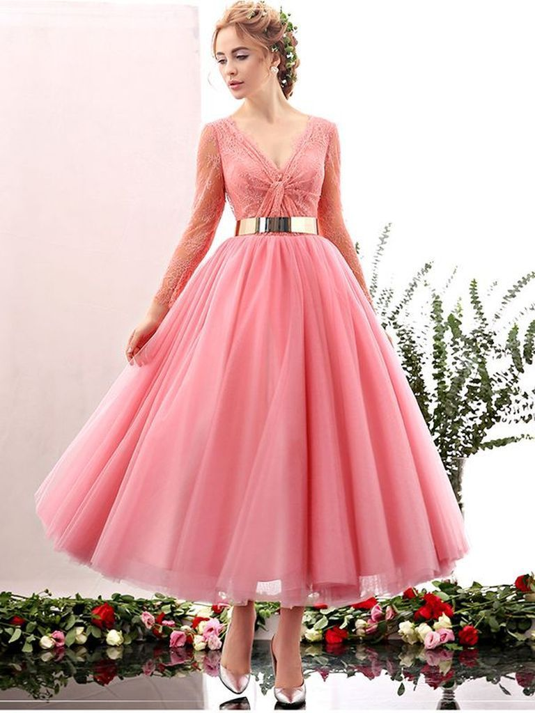 Pink porm dress to perfect your style