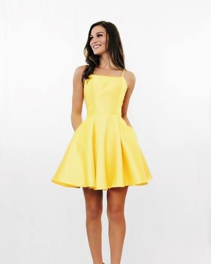Porm dress in yellow to perfect your style