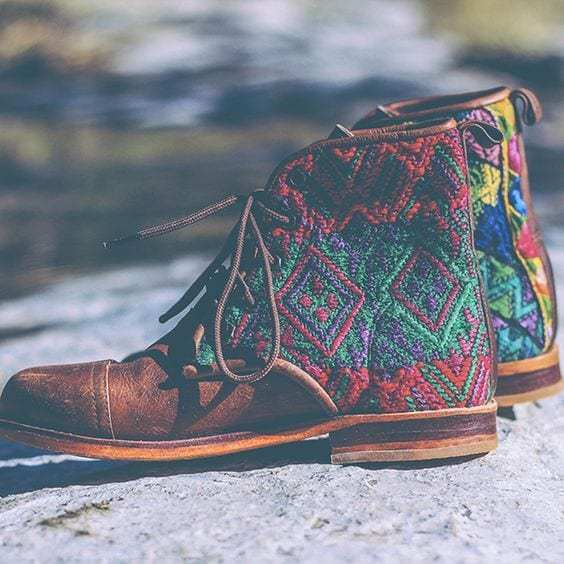An-awesome-bohemian-shoes-for-men-with-brown-background-that-made-of-leather
