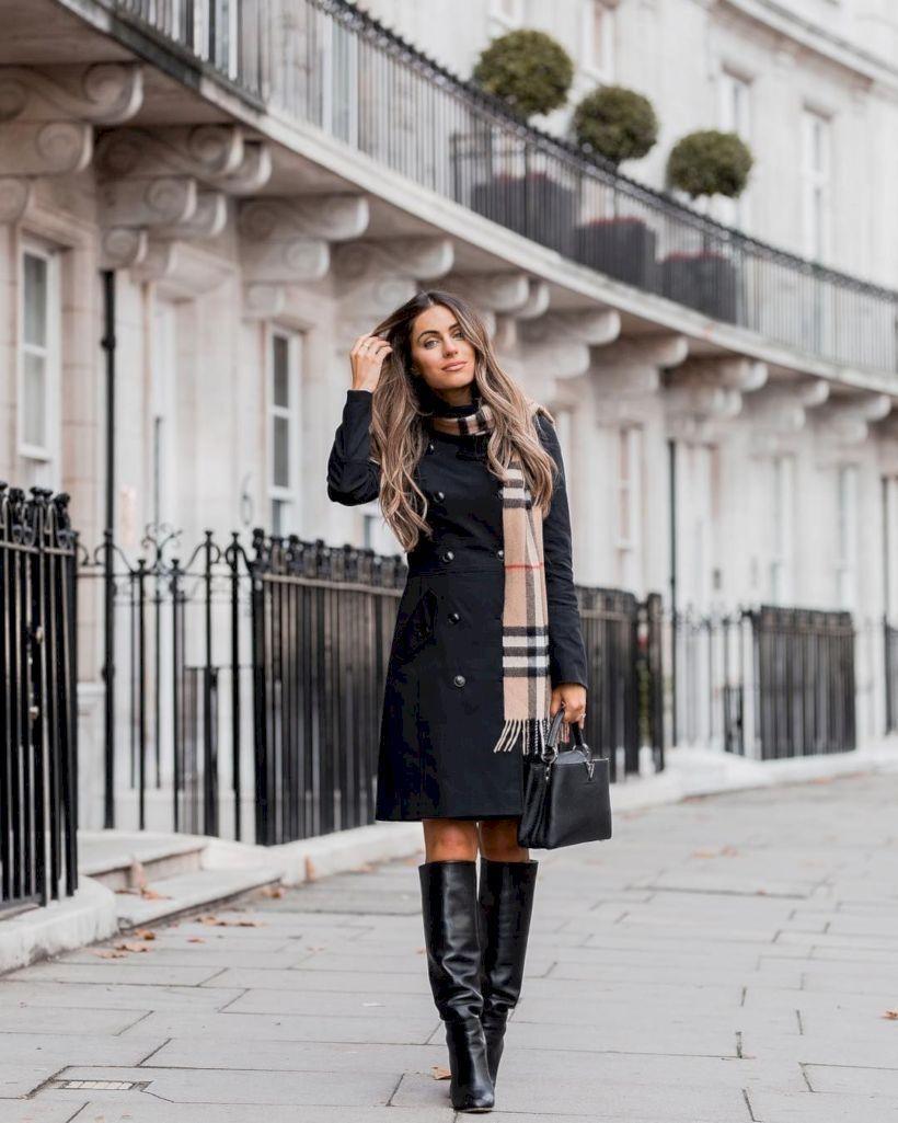 Black-dress-and-black-boot