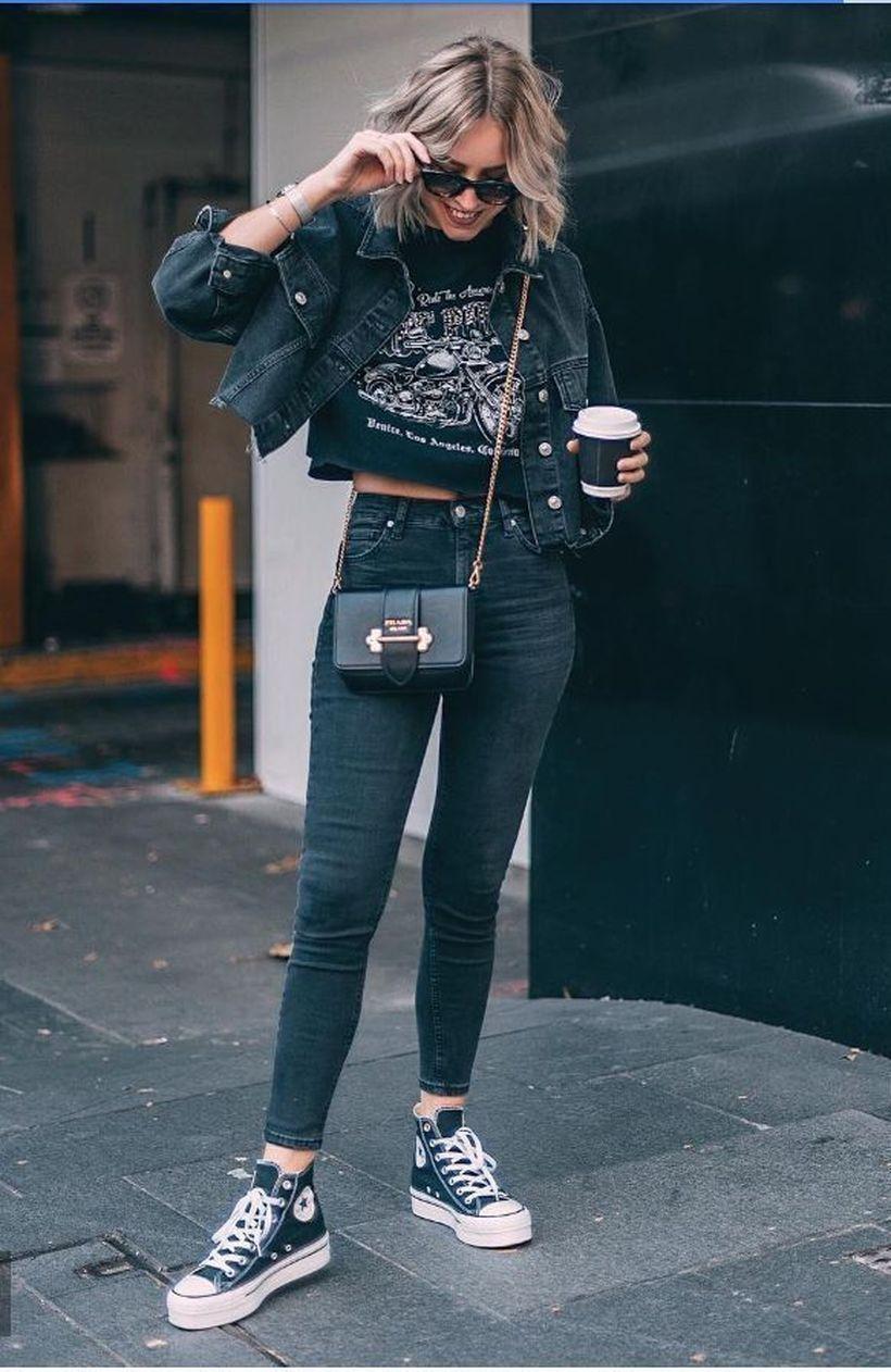 Black-denim-jacket-pants