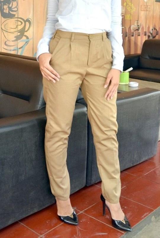 Extraordinary-camel-baggy-pants-1-1