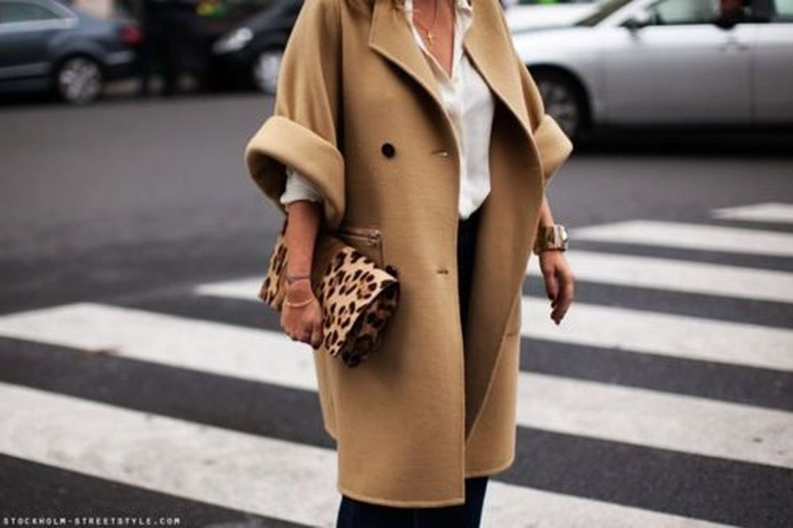 Awesome long brown coat