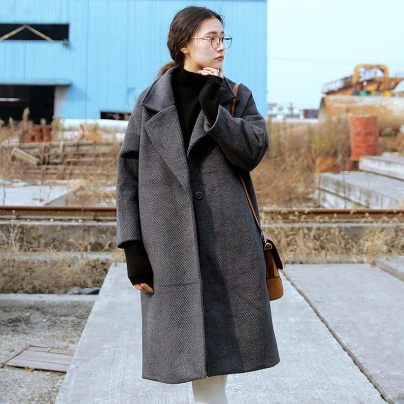 Beautiful long gray coat ideas