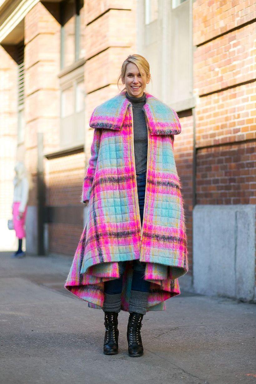 Colorful coat