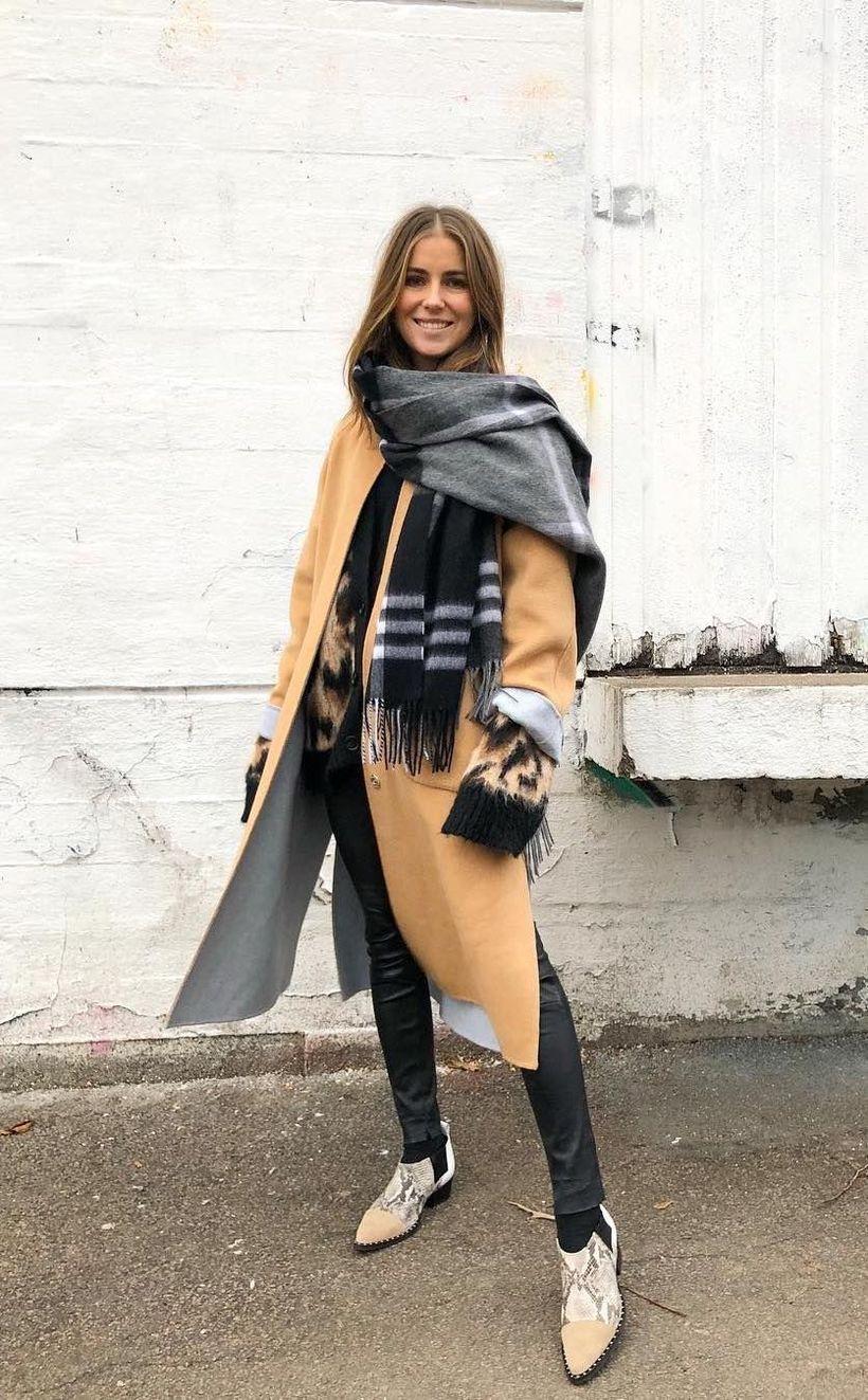 Long beige coat ideas