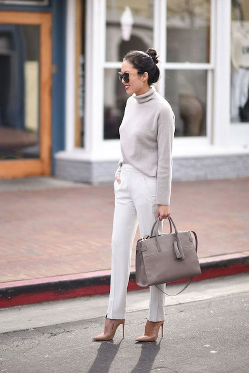 Light-grey-sweater-and-white-grey