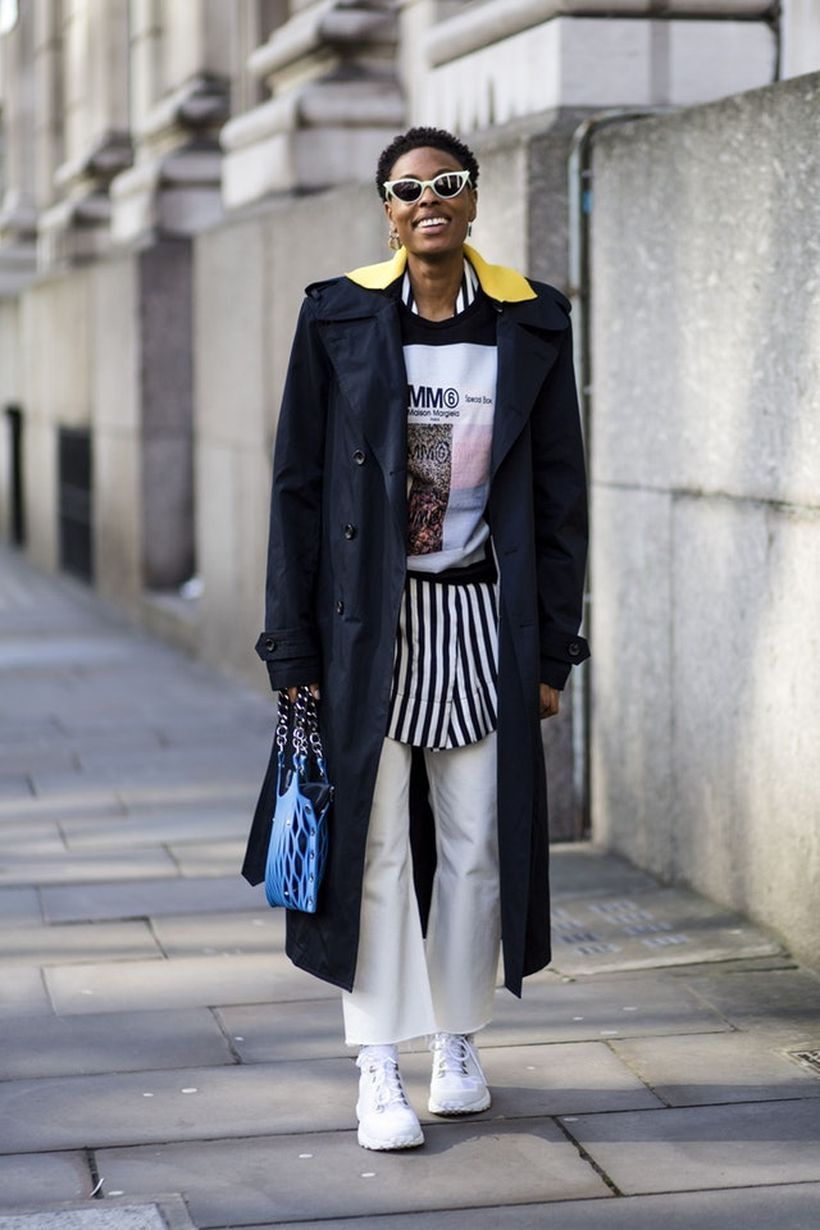 An-interesting-layers-dress-and-sneakers.-