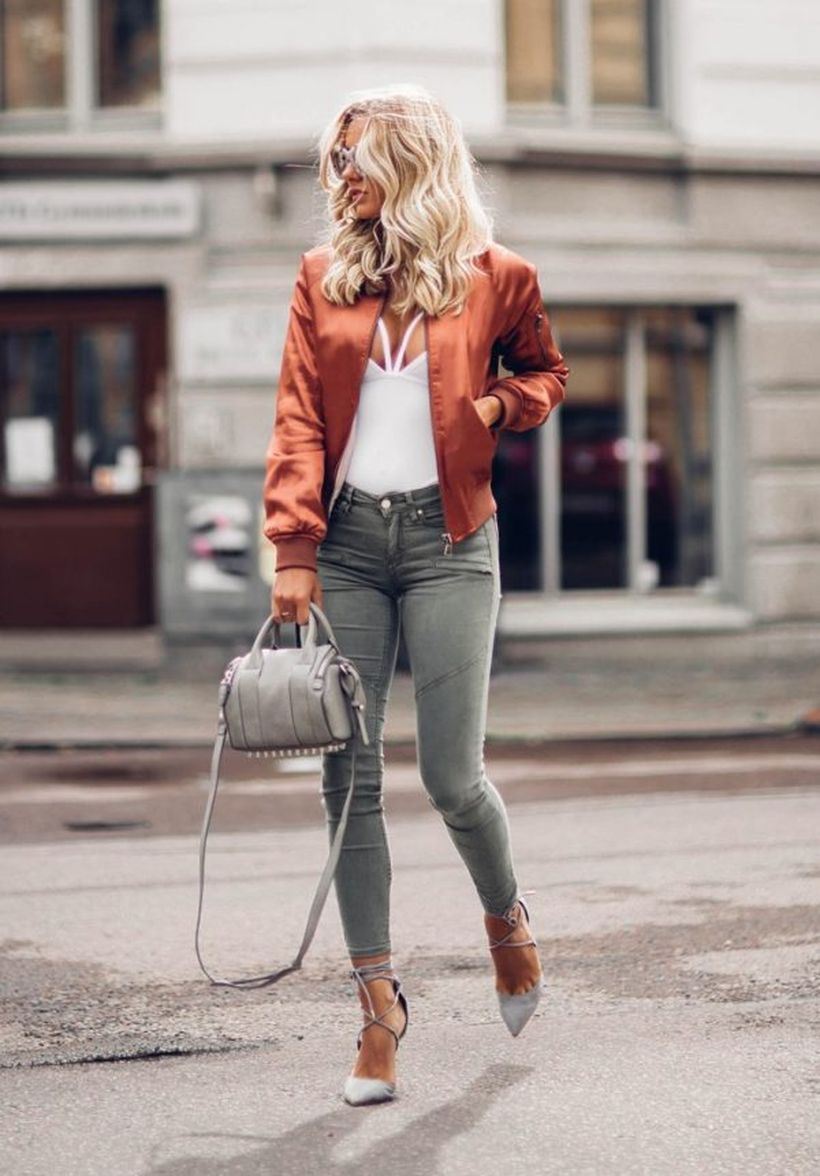 Bronze-bomber-jacket.-
