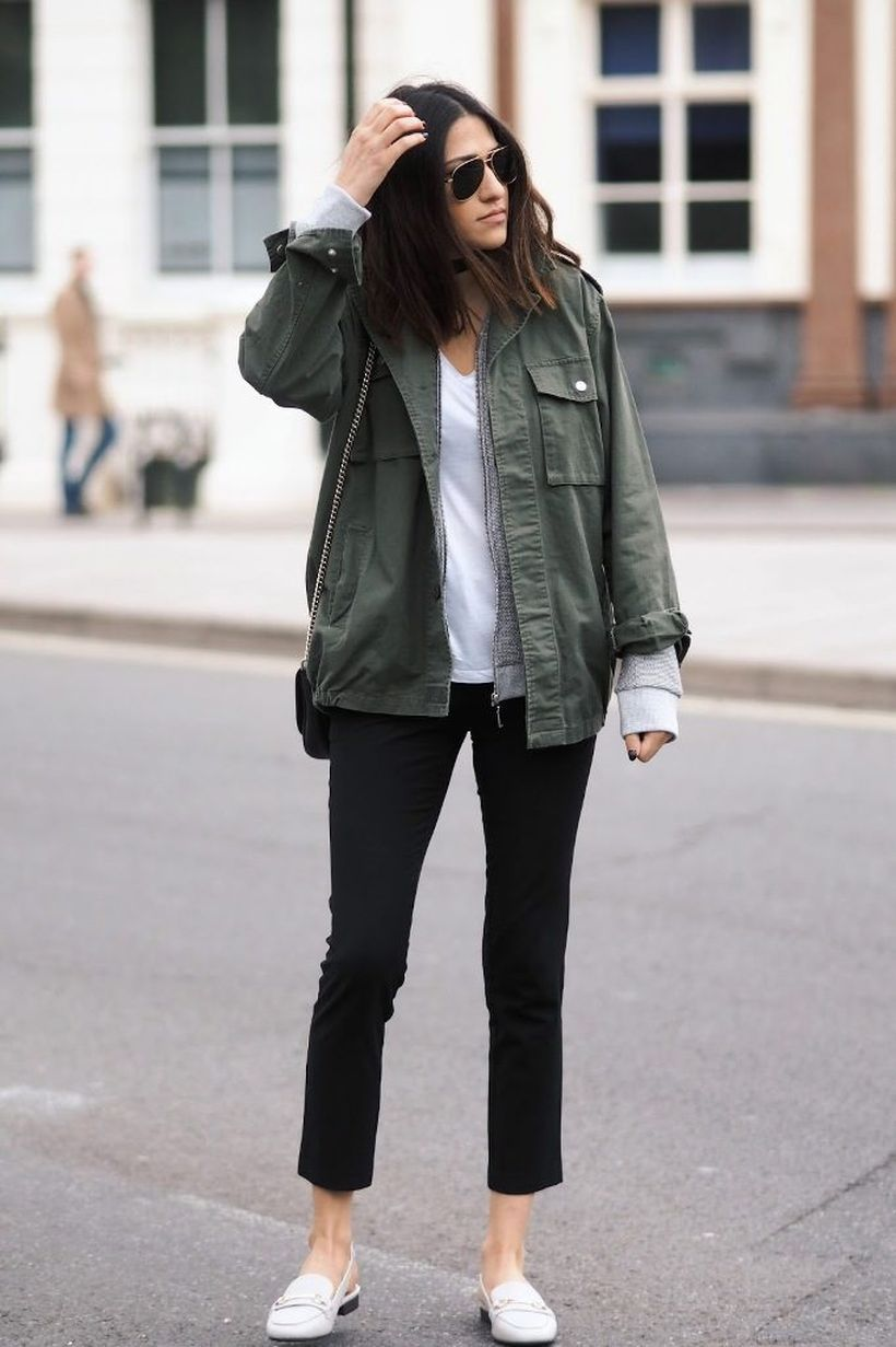 Khaki-green-jacket-casual.-