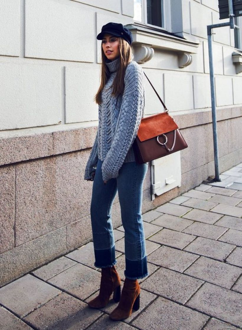 Knit-sweater-stylish.-