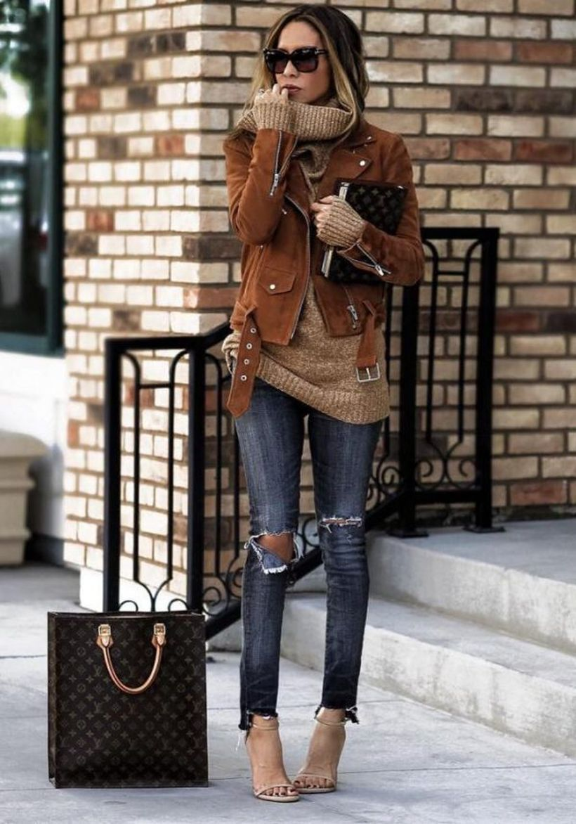 Rustic-brown-suede-jacket.-