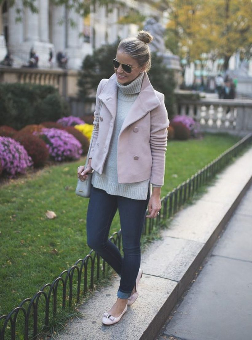 Cropped-pink-coat-cute.-