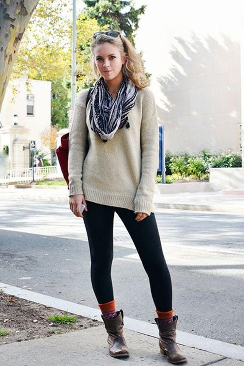 Beige-color-sweater-