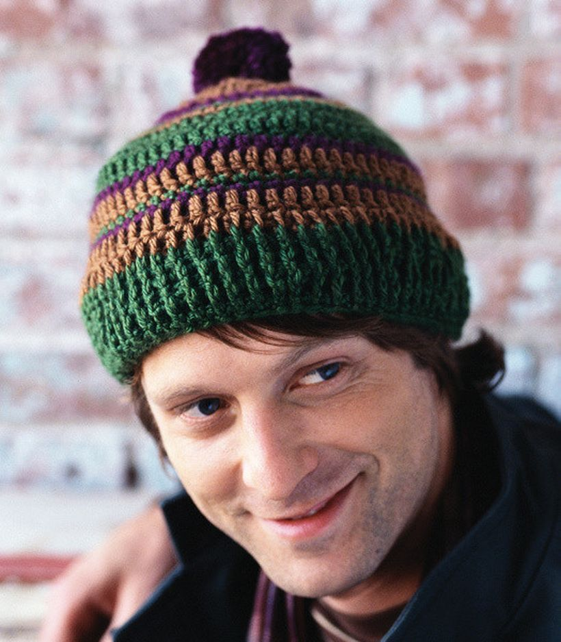 Colorful knit headger