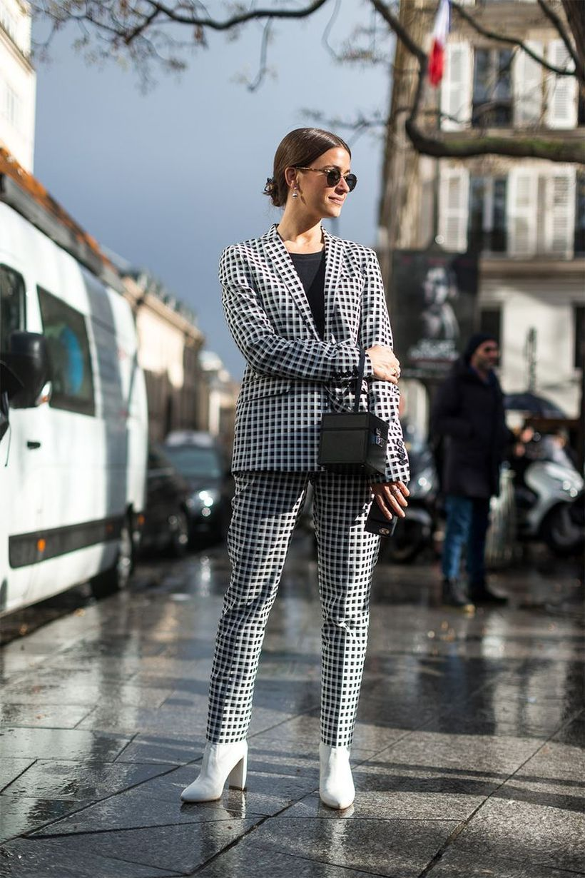 Blazer-and-pant-with-chessboard-pattern
