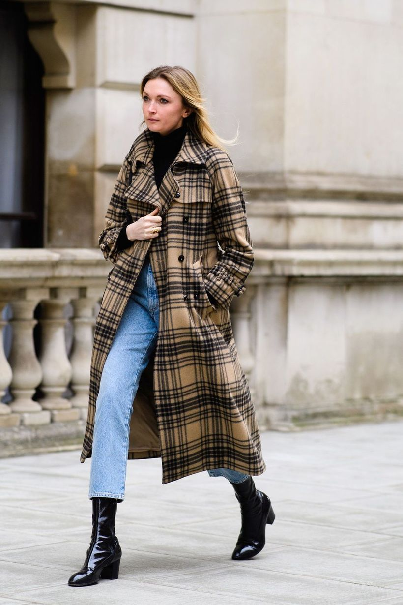 Plaid-overcoat-for-you-to-work