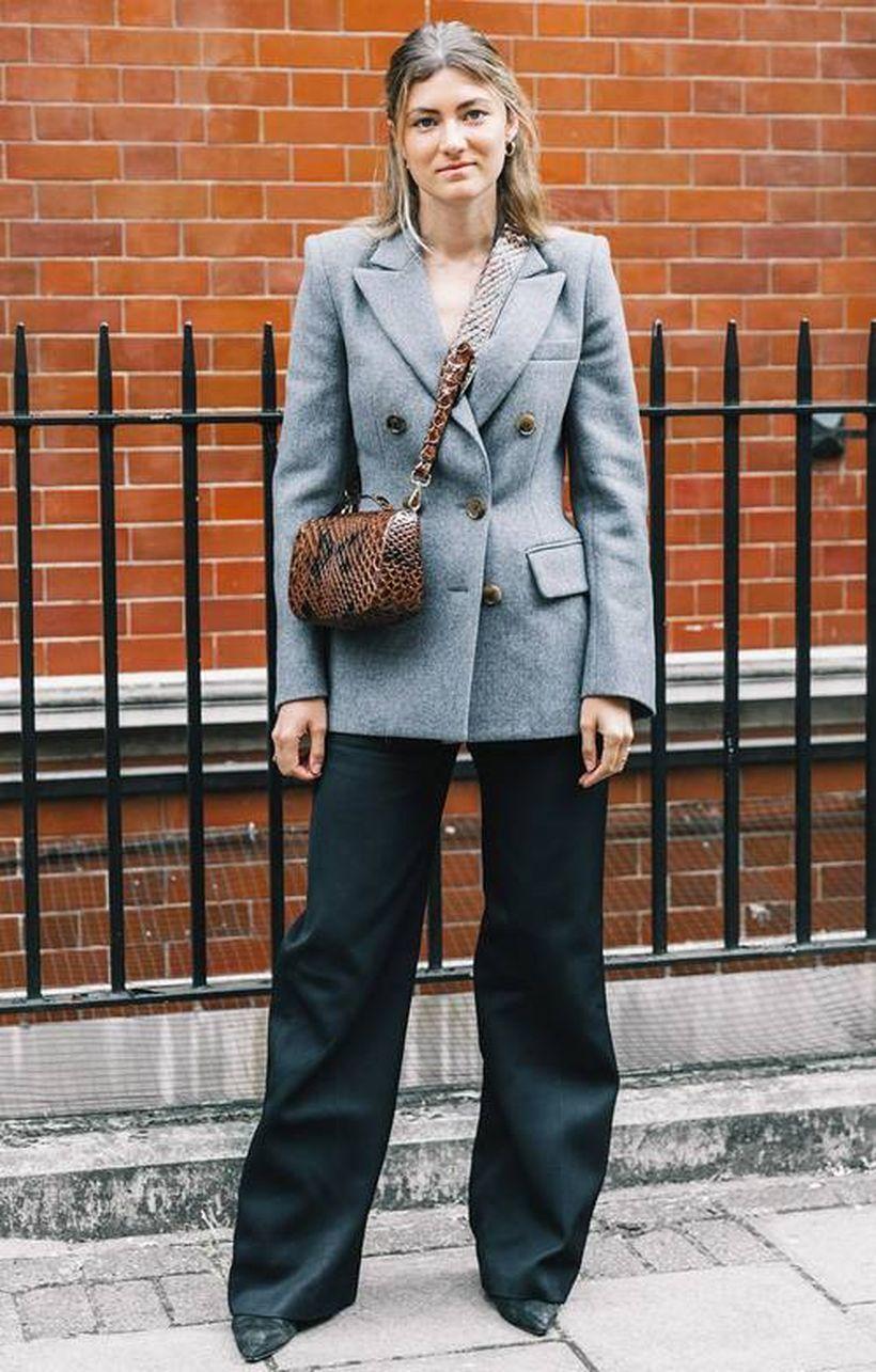 Grey-blazer-and-black-cutbray-pants