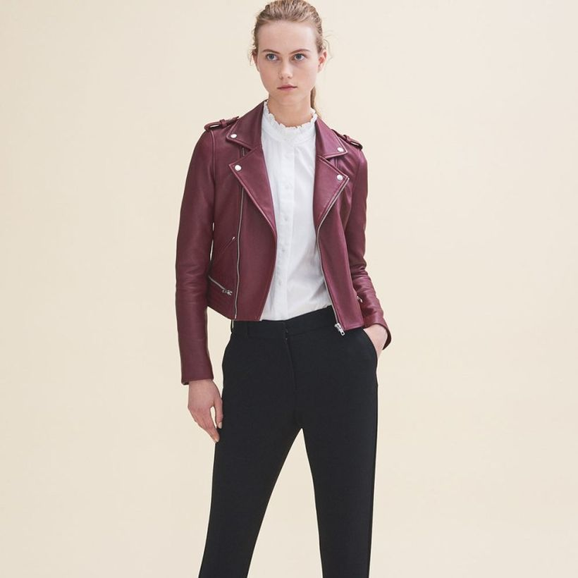 Best-leather-jacket-for-women-with-white-t-shirt-and-denim-pant-for-your-style-this-season-to-look-cool
