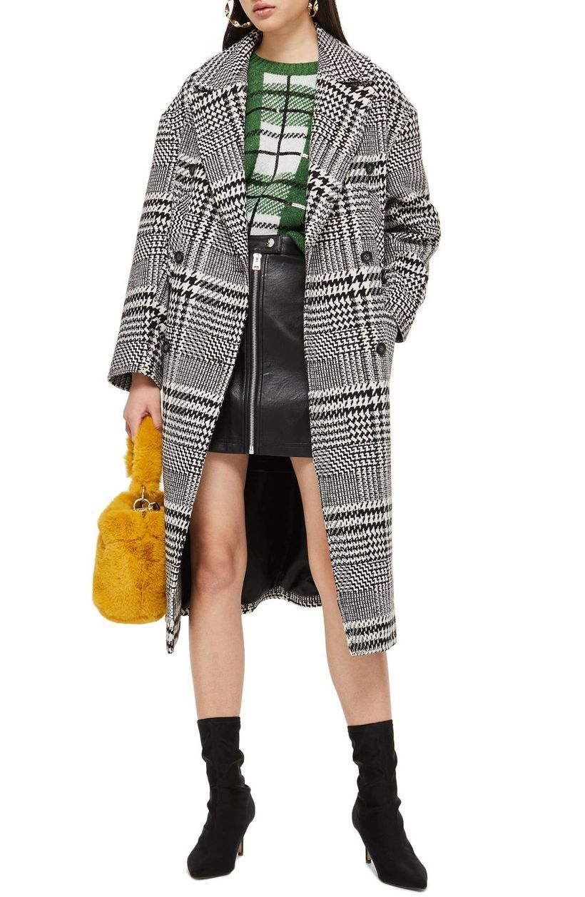 Plaid-long-wool-coats-for-womens-with-plaid-knit-sweaters-black-mini-skirts-and-black-boots-suitable-for-your-style-to-make-it-comfortable