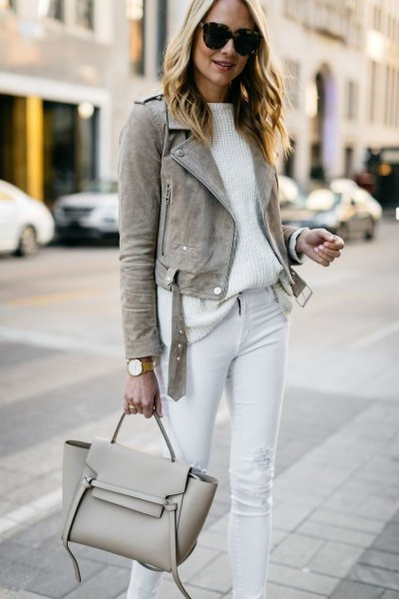 Grey-suede-jacket-and-white-knit-sweater