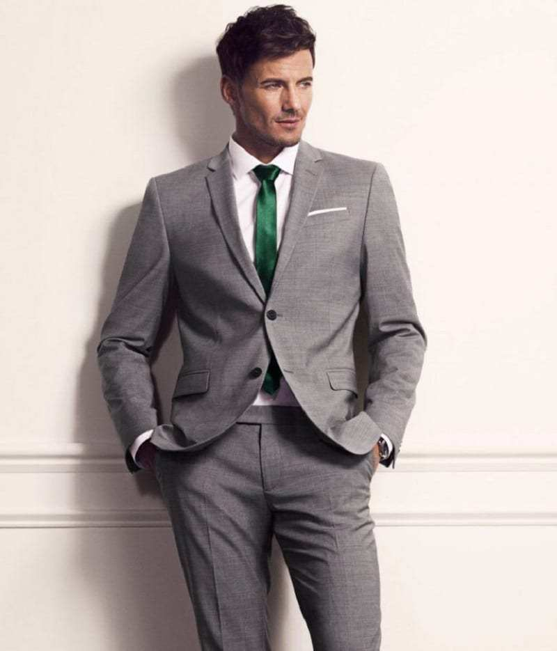 Best grey suit style for guys