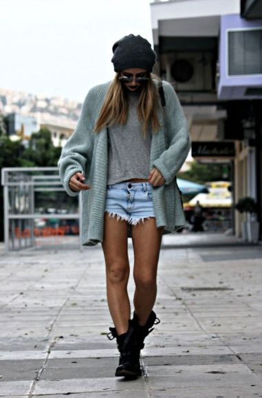 Jeans and a sweater are the best best boho outfits for any trip!