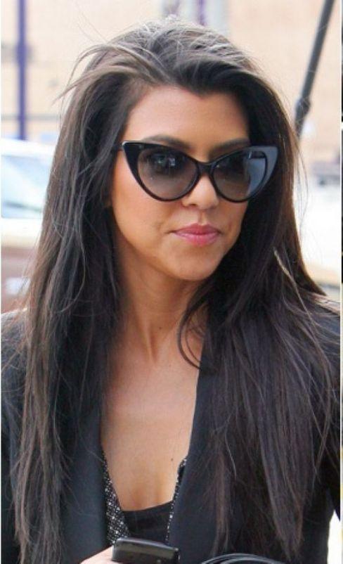 Image result for celebrity celine cat eye sunglasses